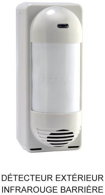 Alarmes reims domotique reims detecteurs for Barriere infrarouge exterieur
